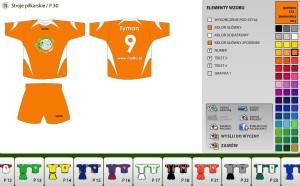 Kreator kompletów piłkarskich