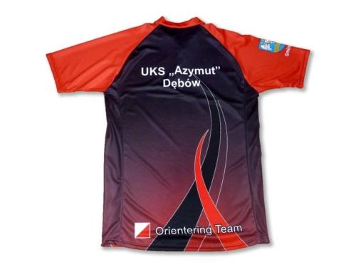 Koszulki sportowe ze stójką nadruk